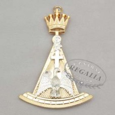 A003 Rose Croix 18th Degree Collar Jewel