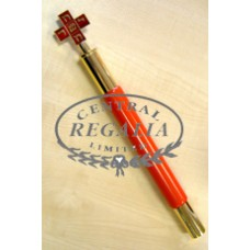 A010 Rose Croix Baton Mws Enamel & Gilt Top