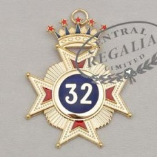 A027 Rose Croix 32nd Degree Star Jewel