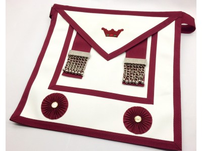 Ath001l  Athelstan Lay Brother Apron Lambskin With  Pocket