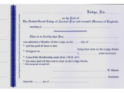 Craft Clearance Certificate Book
