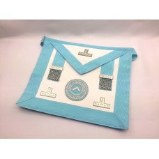 C012 Craft Officers Apron (imitation Skin) With Hand Emb. Badge