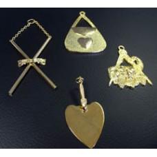 C015 Craft Officer Collar Jewel (gilt)