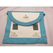 (spain) Craft Wm Apron -standard Quality +  Pocket (round Bib)