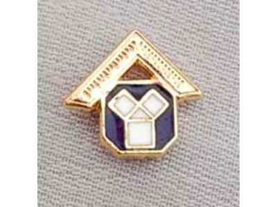 G139 Craft Lapel Pin Enamel Past Master Motif
