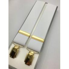 G609  -  Braces - - White