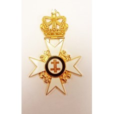 K036 Kt Past Preceptor & Prior's Collarette Jewel      (no Name)