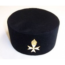 K054 K.m.  Cap With Priors Cross Badge