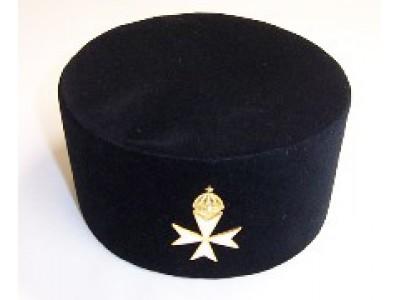 K054 K.m.  Cap With Priors Cross Badge