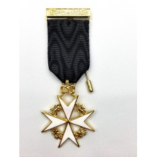 K055 Knights Malta Members Breast Jewel