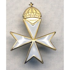 K057 Knights Malta Priors Cap Badge Loose