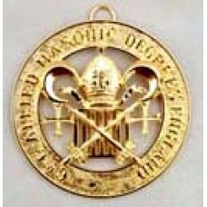 """L017  Allied  Grand Officer Past Active  Collarette Jewel -  1 5/8"""""""