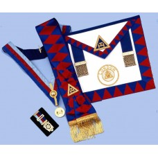 Packagerad1 -  Ra  District Set - Apron, Sash, Collar,jewel & Small Breast Jewel
