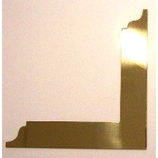 R107 Royal Arch Square Brass  Approx 10""
