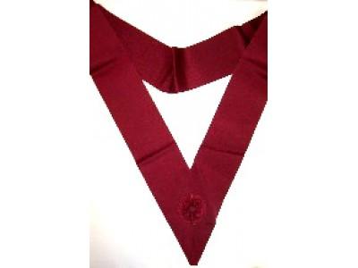 Y004 Ros Sash/cordon Crimson