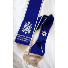 Z034 Osm Provincial Arch Of Steel Sash